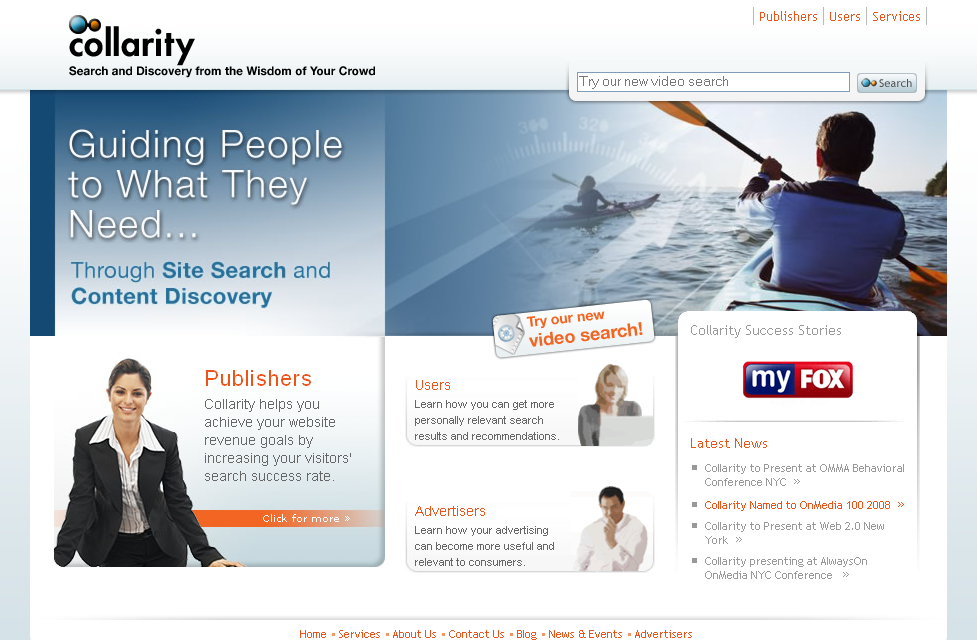 collarity home page
