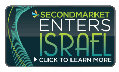 secondmarket launch in Israel