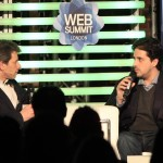 David Tisch and David Rowan at London Web Summit