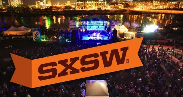 SXSW outdoor event